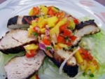 Grilled Lime-Cilantro Chicken With Mango Salsa picture