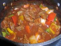 Mexican Style Beef in Sauce picture