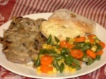 Smothered Cube Steak With Mushrooms-N-Gravy picture