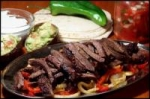 Southwestern Flat Iron Steak Fajitas picture
