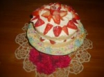 Whipping Cream Sponge Cake picture