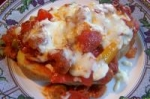 Pizza Stuffed Baked Potatoes picture