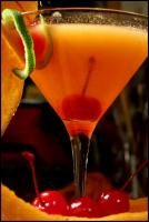 Cantaloupe Martini picture