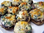 Mushrooms Stuffed With Spinach and Cheese picture