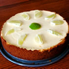 key lime cheesecake picture
