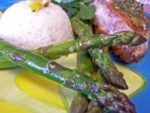 Asparagus With Lemon Curd picture