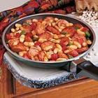 kielbasa and kidney beans picture