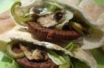veggie burger pitas picture