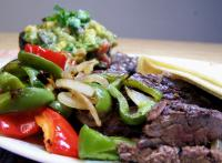 Grilled Skirt Steak With Avocado-Tomato Salsa picture