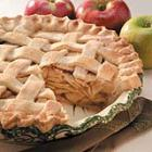 lattice-topped apple pie picture