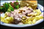 Slow Cooker Beef Stroganoff picture