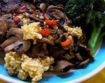 Couscous With Sauteed Mushrooms picture