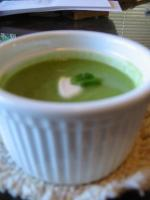 Fresh Pea Soup With Mint picture