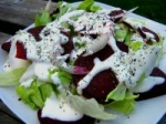 Roasted Beet Salad With Horseradish Cream Dressing picture