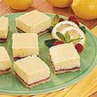 lemon cheesecake squares picture