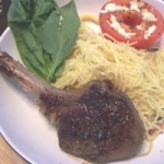 Lamb Chops With Basil Lemon Sauce picture