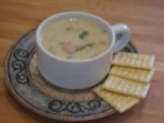 Southwestern Corn and Red Pepper Chowder picture