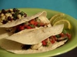 Grilled Halibut Tacos With Roasted Tomato & Tequila Salsa picture