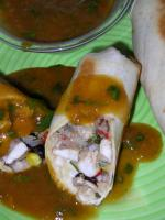 Caribbean Chimichangas With Jamaican Pepper Sauce picture