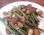 Asparagus and Water Chestnuts picture