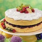Lemon Raspberry-Filled Cake picture