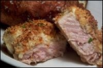Mustard-Baked Pork Chops W/Brie picture