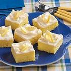 lemon sheet cake picture