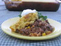 Beef Mole Tamale Pie picture