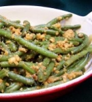 Green Beans With Peanut Ginger Dressing picture