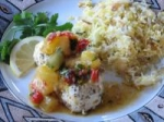 Grilled Halibut With Pineapple Chipotle Salsa picture