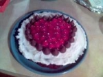 Hershey's Cherry Cordial Creme Cheesecake picture
