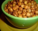 Spicy Roasted Chickpeas picture