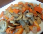 Mushroom, Red Pepper and Onion Saute picture
