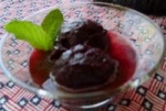 Blueberry Sorbet With Lemon and Tarragon Jus picture