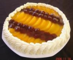 No-Bake Fruit Topped Cheese Cake picture