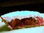 Frozen Strawberries Gelatin Pie picture