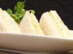 Cucumber Mint Tea Sandwiches picture