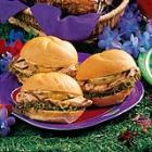 luau chicken sandwiches picture