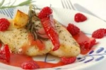 Pan Seared Fish With Raspberry Vinaigrette picture
