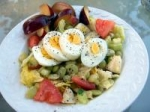 Salad With Hard Boiled Egg picture