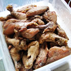 mahogany chicken wings picture