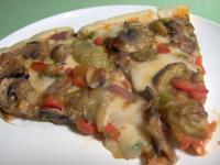 Grilled Eggplant Pizza(Vegetarian) picture