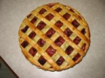 Spiced Apricot and Plum Pie picture