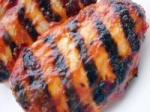 Grilled Chicken Basted With Red Horseradish Sauce picture