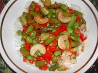 Vegetable and Cashew Stir Fry picture