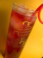 Hibiscus & Rose Hip Iced Tea With Cranberry Juice picture