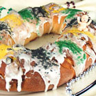 mardi gras king cake picture
