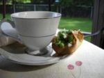Dainty Pea Salad Cups picture
