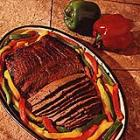 Marinated Flank Steak with Peppers picture
