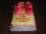 Cake - Dorothy's Ruby Slippers picture